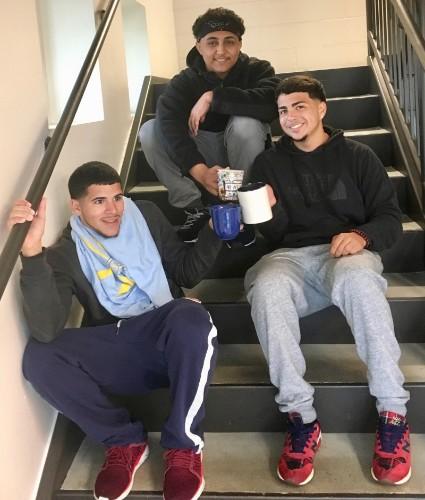 3 Amigos hot chocolate toast
