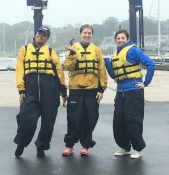 3 RI Girls sailing