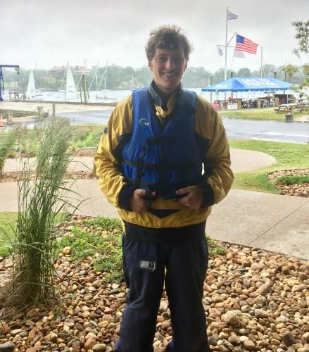 Chris sailing outfit