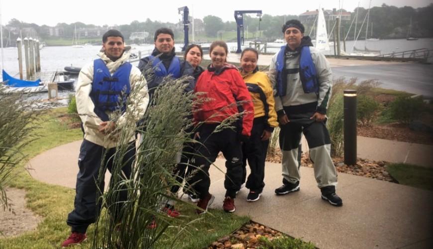 Holyoke youth sailing outfits